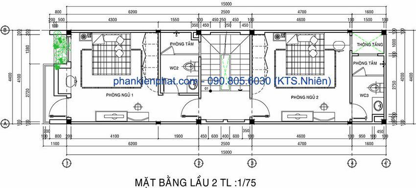 Mẫu nhà ống 4 tầng đẹp 2018 12