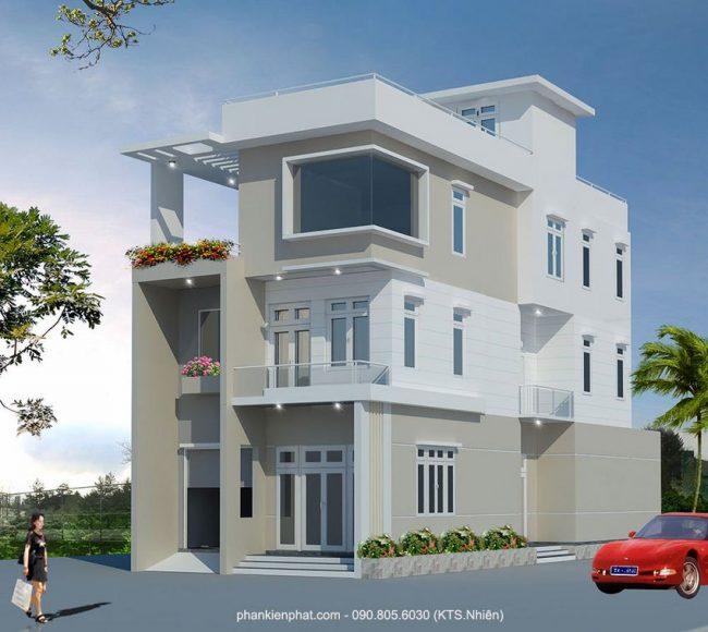 Biệt thự phố 4 tầng diện tích 16x7m tại Quang Trung Gò Vấp